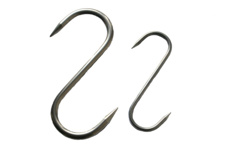 S HOOK STAINLESS STEEL