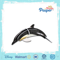 3d animal puzzle dolphin model children toys