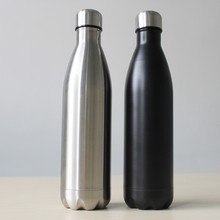 wholesale double wall stainless steel water bottle 500ml 750ml 1000ml bpa free water bottle