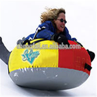 Snow Tube - Air Tube Inflatable Snow tube snow sled