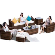Garden Furniture Sofa Outdoor Furniture Sofa Set High Quality Comfortable Waterproofing Sofa