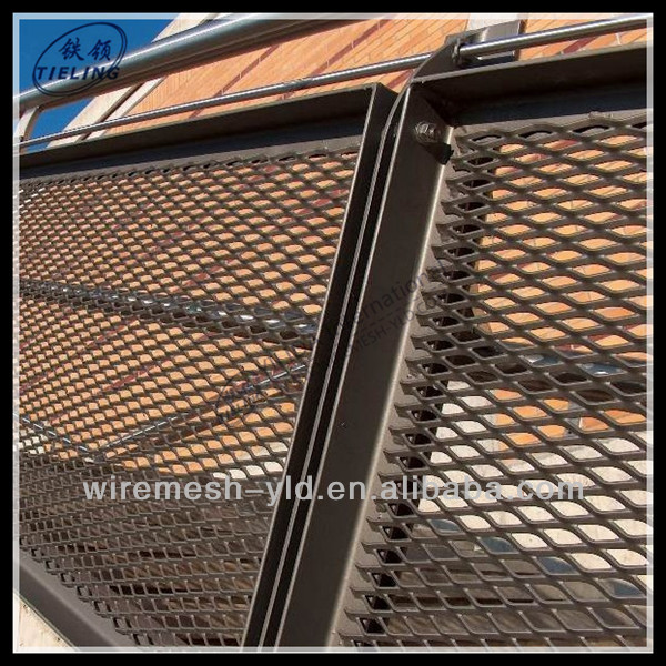 4ft x 8ft sheets expanded metal mesh fence panel