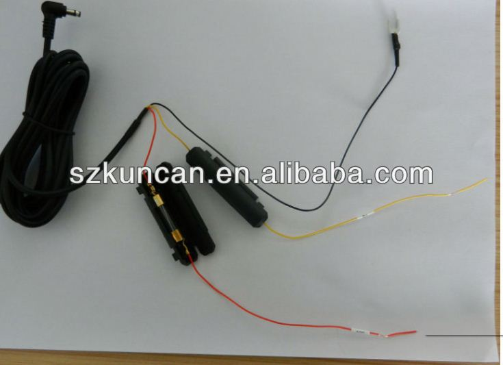 power cable for car rear view mirror