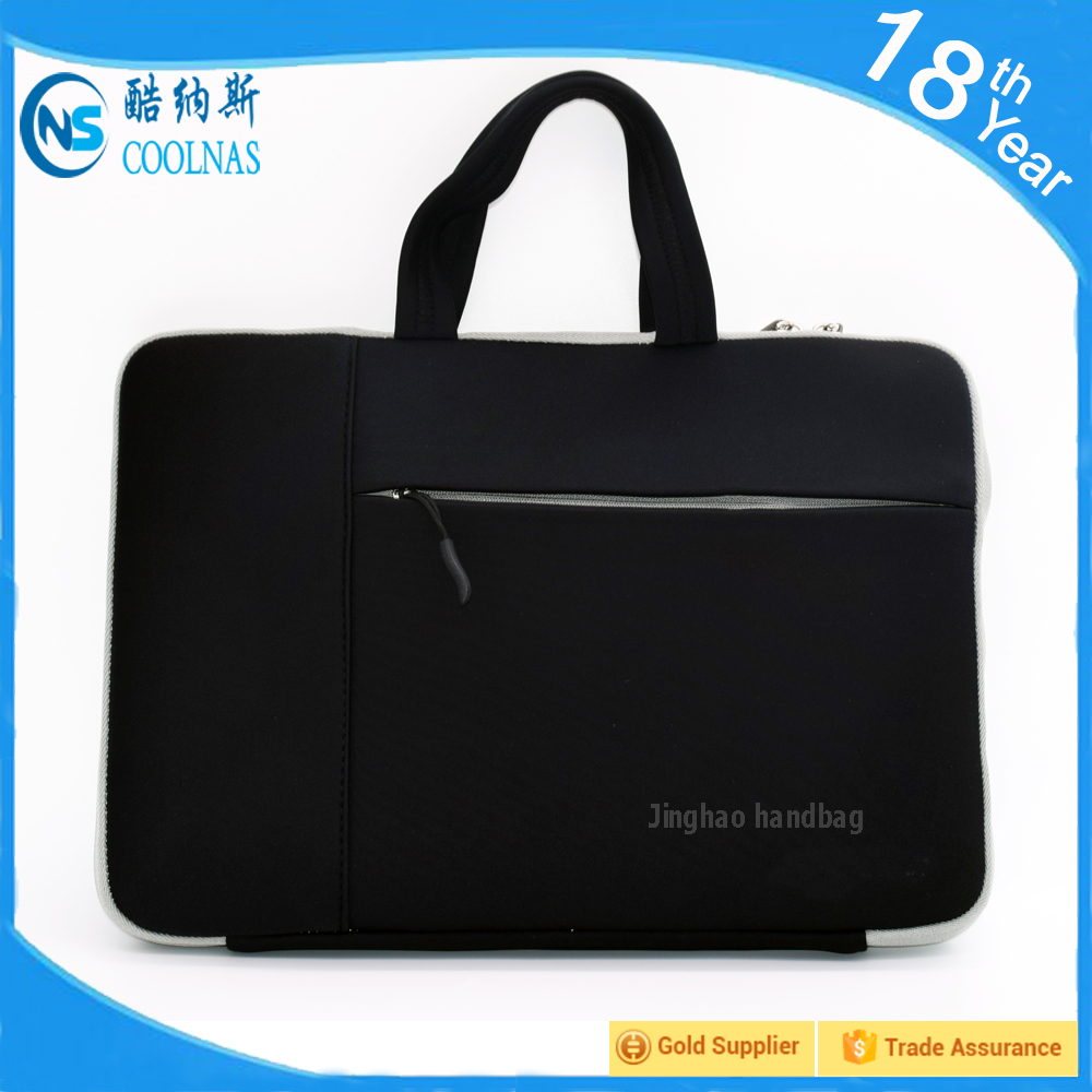 custom neoprene laptop case, unisex gender neoprene laptop tote bag