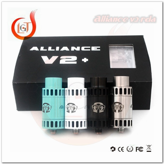 Health food hot products vape alliance v2 clone rda atomizer pk alliance fat boy rda alibaba express alliance 4 colors rda high