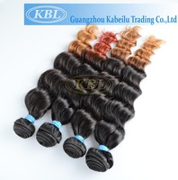 sell best colored two tone hair weave