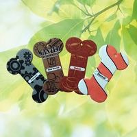 Customized shape scented paper car air freshener