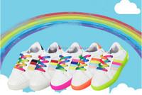 LED Light Up Shoes Boy Girl Multicolor Boat Sneakers (Toddler/Little Kid/Big Kid)