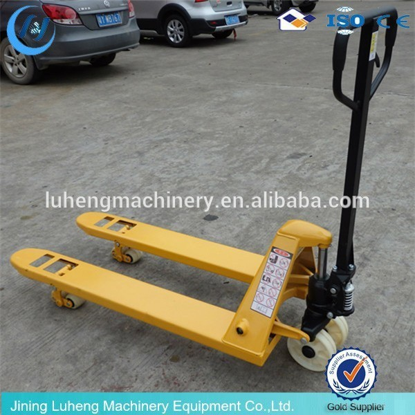LUHENG hand manual forklift prices / hand hydraulic forklift for sale