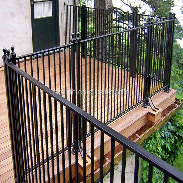 Top sale steel wrought iron balcony railing designs buy for Balcony steel railing designs pictures