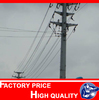 electricity 220kv stainless steel flag pole used in Philippiness