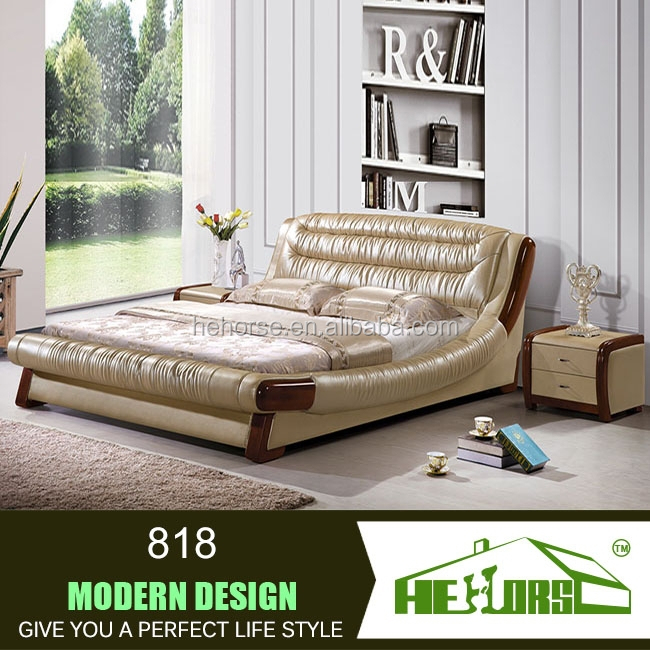 New Design Indian Wood Double Bed Designs 818#   Buy Indian Wood Double Bed  Designs,Double Floor Bed,New Design Double Bed Product On Alibaba.com