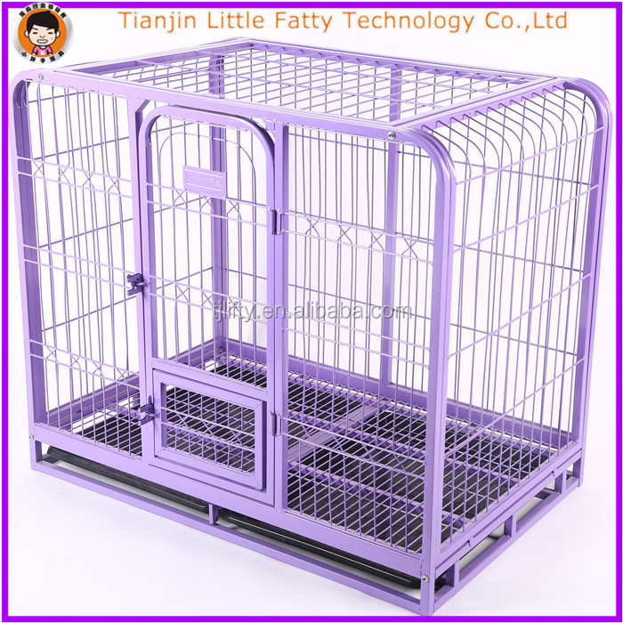 Powder coated dog cage large
