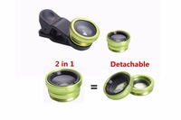 0.65X one plus 3 smartphone lens with Uncoated fisheye,wide angle,Macro