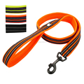 Reflective tape bonded breathable mesh nylon dog leash material