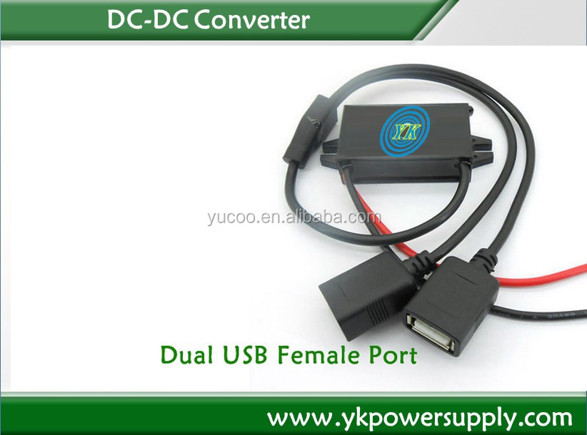 12v to 5v 3a for mobile charge of USB dc dc converter