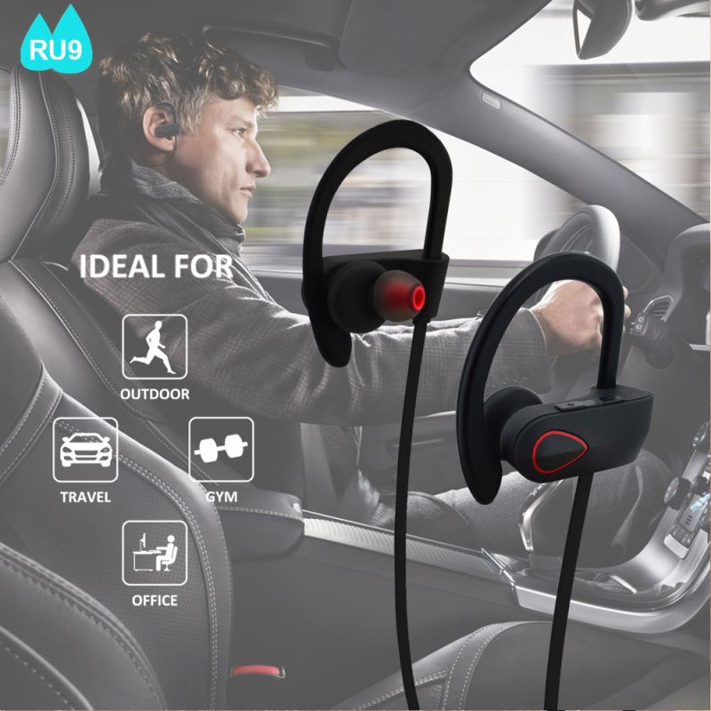 Private mould famous design best quality factory price wireless patent bluetooth earbuds RU9