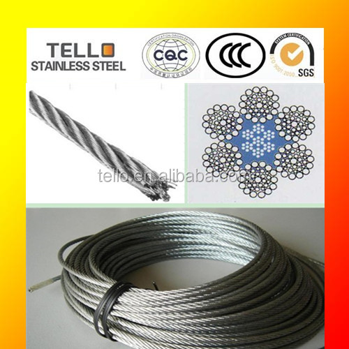 316L stainless steel cable laid wire
