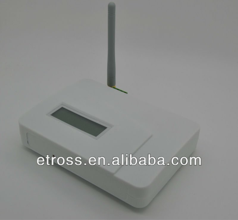 Quad band GSM FWT Fixed Wireless Terminal / Switcher with LCD Display, Relay