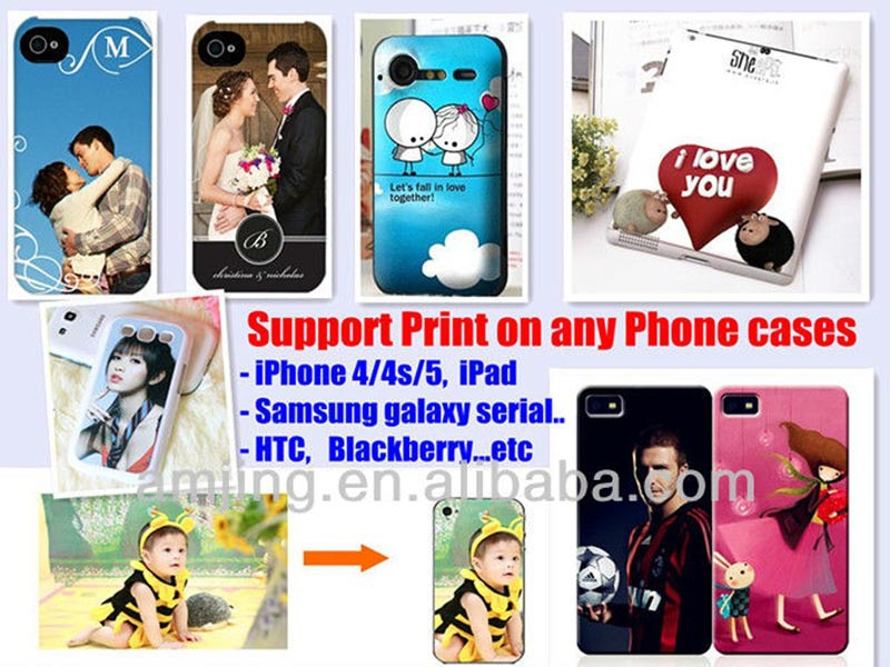 High quality factory price mobile phone skin printer with best price
