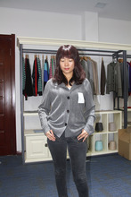 High Quality 100% Cashmere Womens Cardigan Sweater