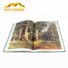 Overseas cheap hard cover full color paperback book printing