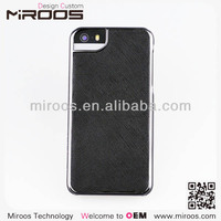 2014 new china high end special for iphone 5 5s slim matte hard plastic pu leather black cell phone case