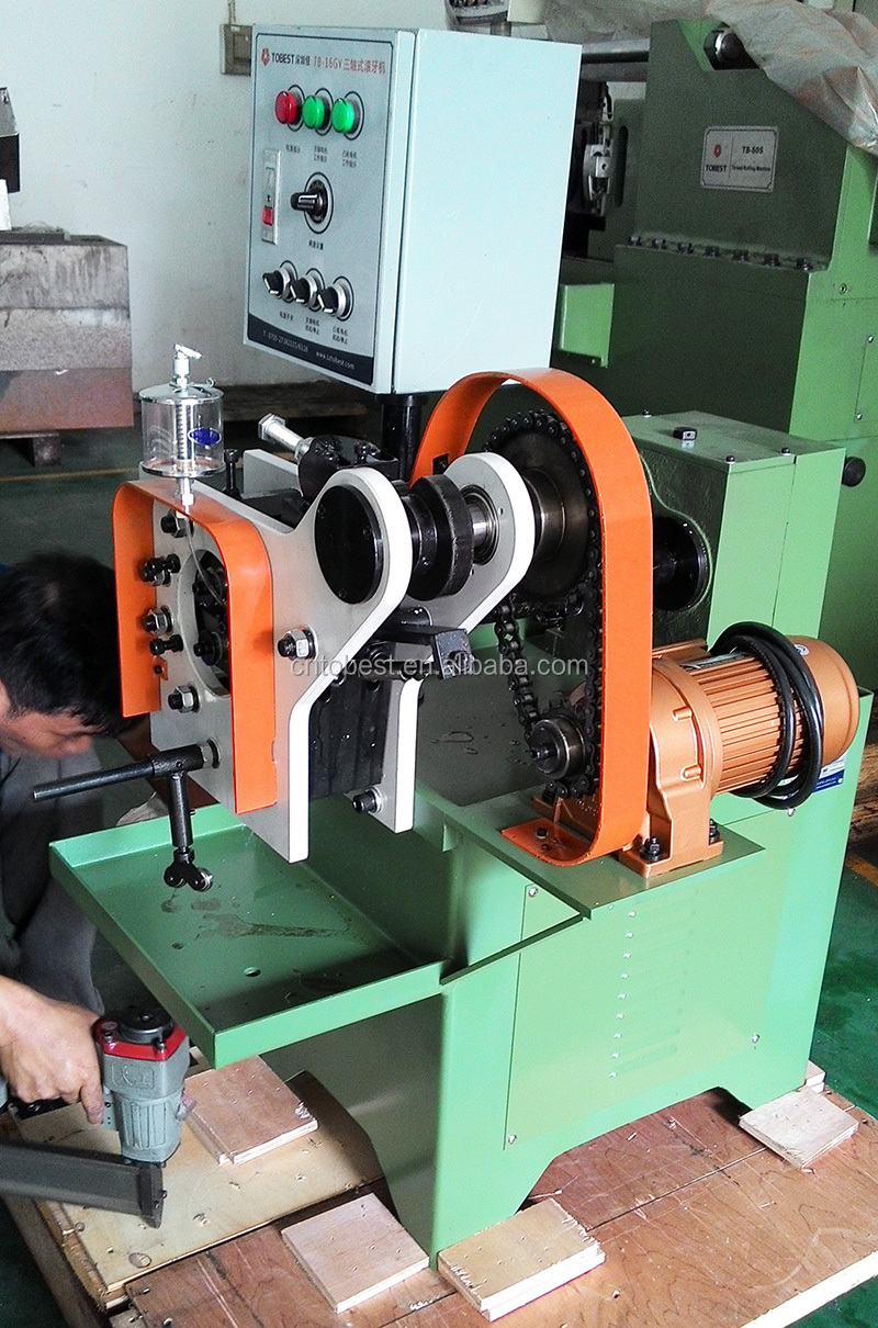 automatic rolling machine used pipe threading machine TB-16GY