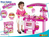 HOT SELL KIDS PLASTIC KITCHEN SET (69PCS, WITHOUT FUNCTION), 6442189