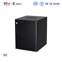 Realan E-D5 Micro ATX Aluminum Case from factory