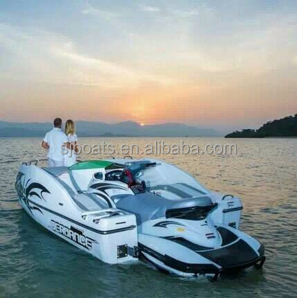 SANJ wave boat with other brands jet ski
