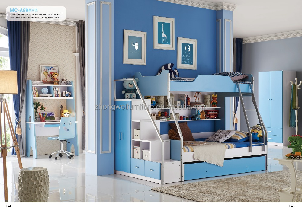 Cheap mdf wholesale bunk beds with stairs for kids buy for Cheap bunk beds for kids