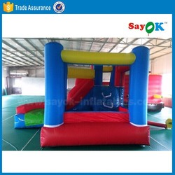 indoor and outdoor mini inflatable bouncy castle/ toddler playland inflatable for sale