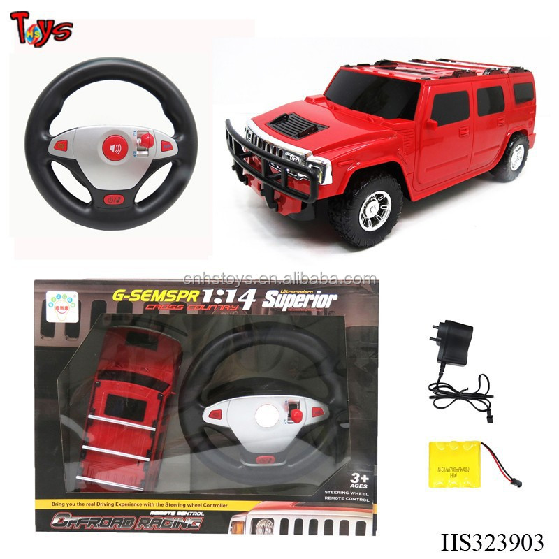 Super <strong>1</strong>:14 round stearing universal rc car remote control with sound light
