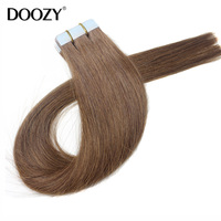 factory outlet skin weft Indian human hair cheap tape hair extensions
