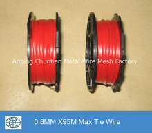 black annealed max tie wire/ galvanized max binding wire/ PVC coated wire for XDL and MAX