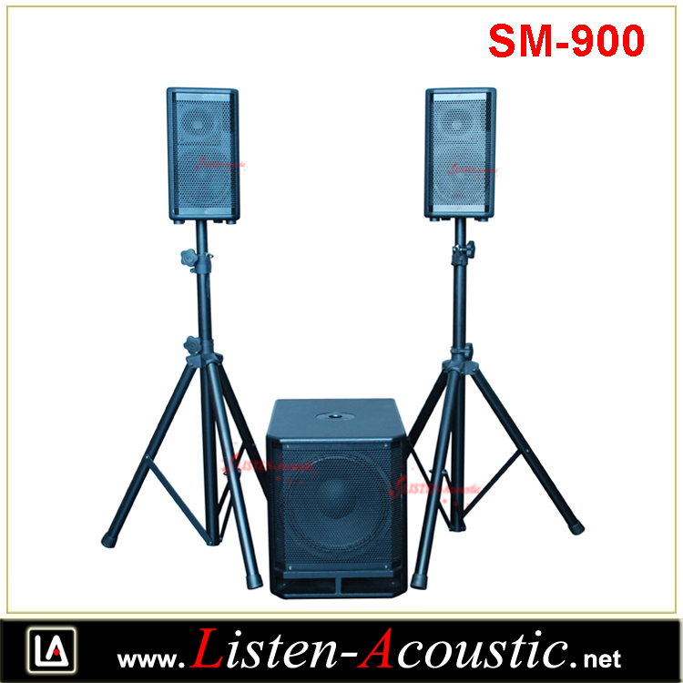 SM-900 2.1 Combo PA Sound System with Digital Amplifier
