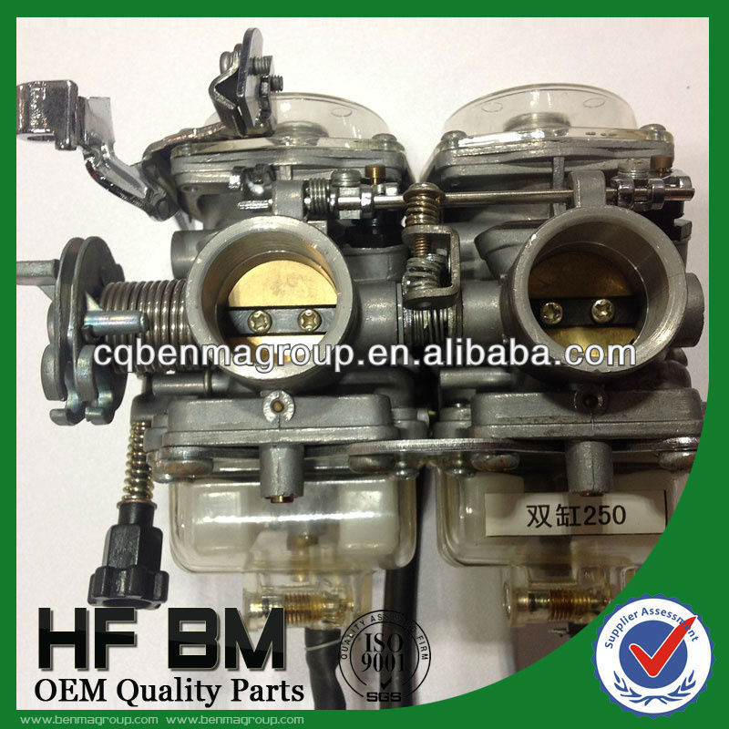 CBT250 Motorcycle Carburetor, High Quality CBT250 Carburator with Two Cylinders Factory Sell
