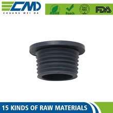 Direct Selling Professional Custom Rubber Cap Button / Rubber Pipe End Cap