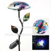 Printing Street LED Solar Light Cerative Solar Panel Garden Stake Lighting-MG110166290