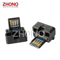 Toner cartridge chip MX 312 for Sharp AR5726