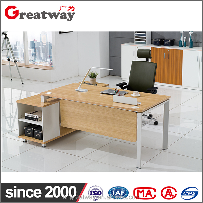 latest custom products cheap price office furniture desk metal frame computer table