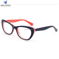 2016 New product black frame color high quality polis optical glasses