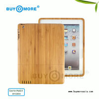 high quality bamboo smart cover for ipad mini