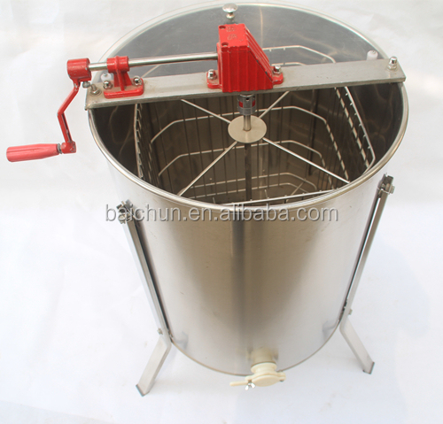 Supplying New style export-oriented 4 frames stainless steel honey extractor/separator for taking honey