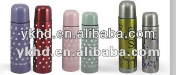 2013 New!!Colorful bullet shape vacuum cup stainless steel water bottle