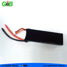 Custom long cycle geb5543125 40C 2200mAh high c rating lipo battery pack