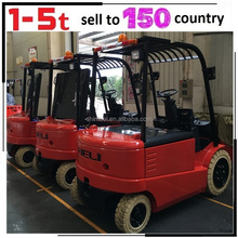 China Motor DC AC Mini Electric Forklift Truck Counterbalance Electric Forklift Truck with Low Price