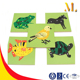 montessori flora and fauna panel puzzle montessori teaching AIDS early childhood educational toys