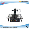 LY IR6500 V.2 bigger preheat area 240*200mm USB port bottom 2 PC fan PCB jigs 6 pcs Infrared BGA Rework Station